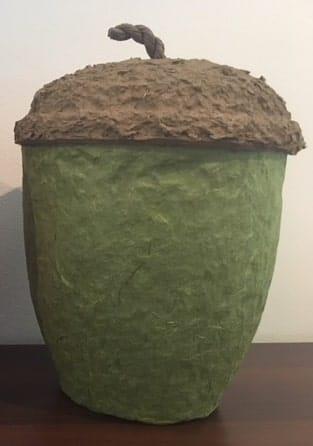 Eichelurne grün