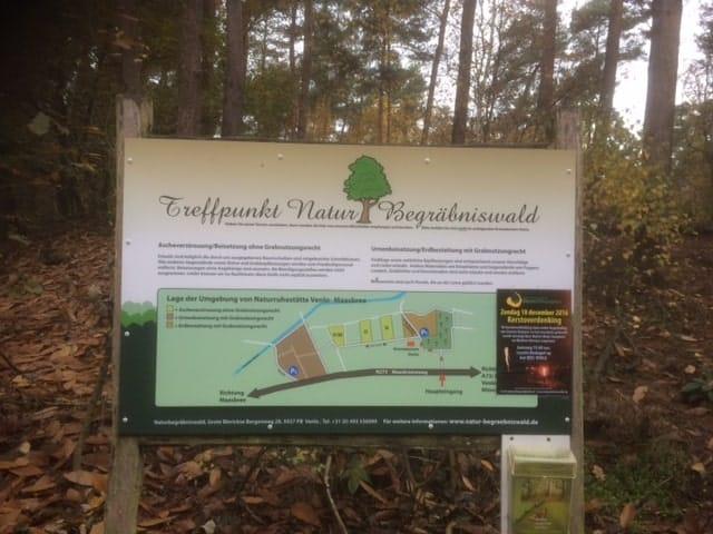 Infotafel Wald Venlo