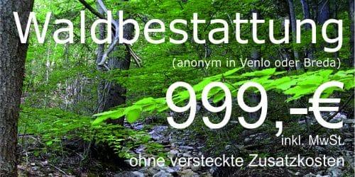 anonyme Walbestattung Venlo Feuerbestattungen24.de